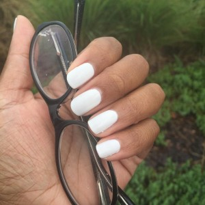 White nail polish I love it Its crisp and creamyhellip