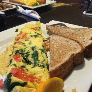 Sometimes you just want a veggie loaded omelette. And you…