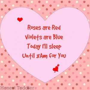 It really is the simple things, @honesttoddler. Happy Valentine's Day,…