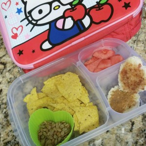 Toddler snack box. I put more effort into her snacks…