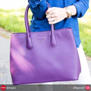 iRepost tjmaxx Wanted for fall A bold new bag hellip