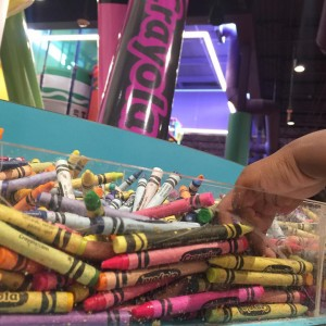 You would think a place called the Crayola Experience ishellip