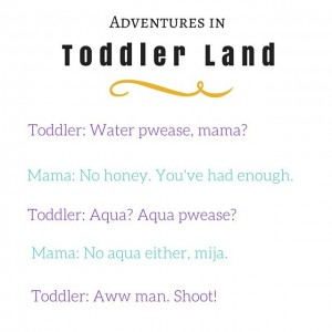 Never a dull moment. Not ever. #toddlers
