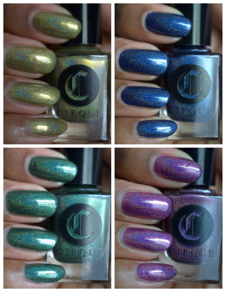 Cirque Nails Burlesque Collection