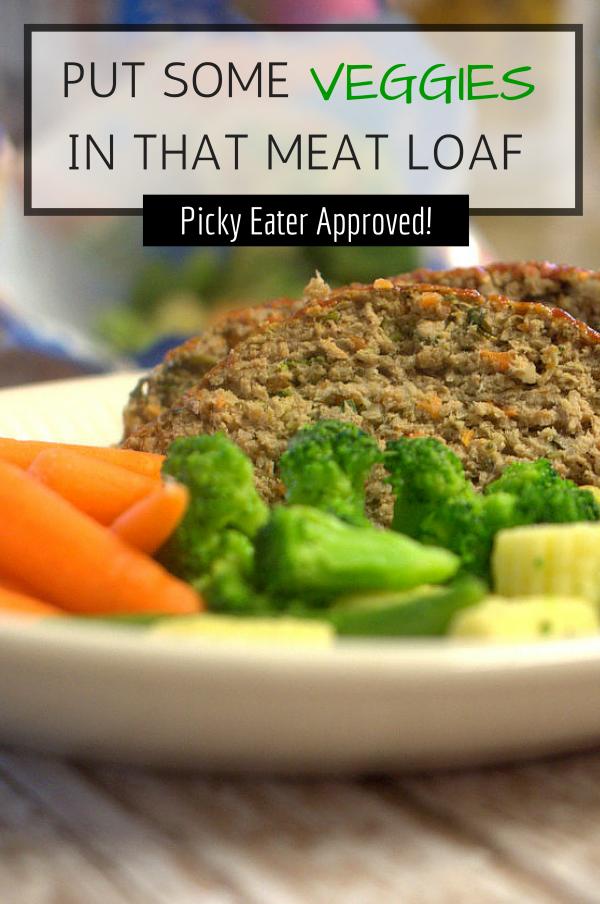 Veggie meat loaf