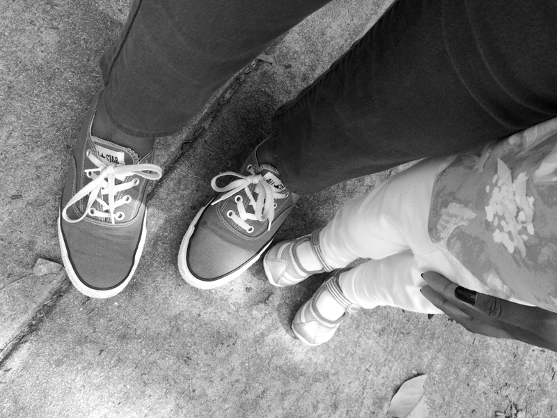 Mommy and daughter shoes