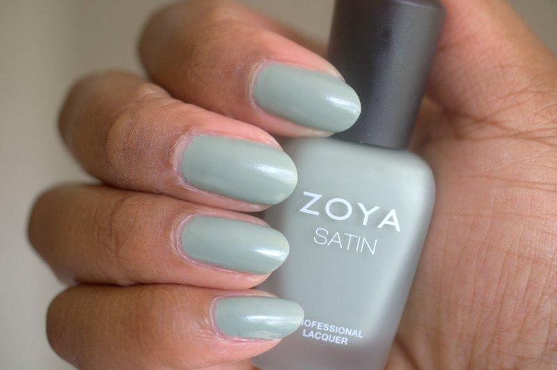 Zoya Sage nail polish