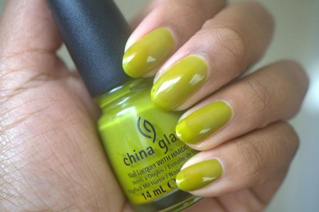 China Glaze Budding Romance nail polish
