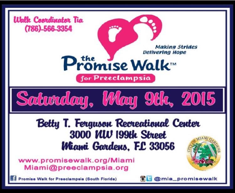2015 Promise Walk for Preeclampsia
