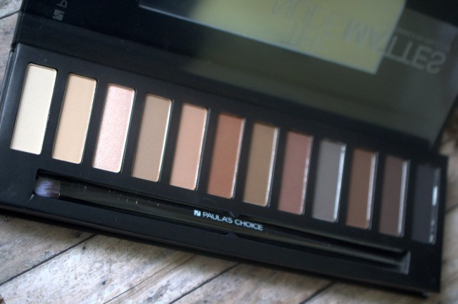 Paula's Choice Nude Mattes Eyeshadow Palette