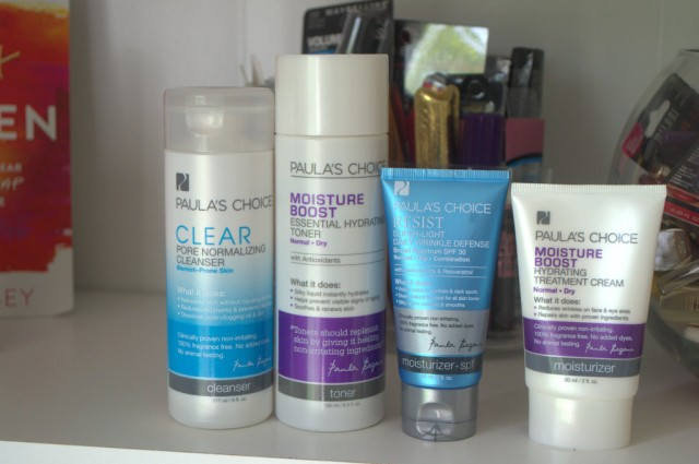 Paula's Choice skincare items