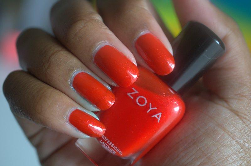 Zoya Aphrodite nail polish