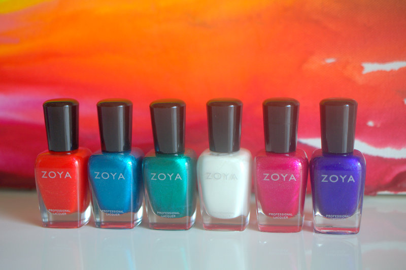 Zoya Paradise Sun nail polish collection