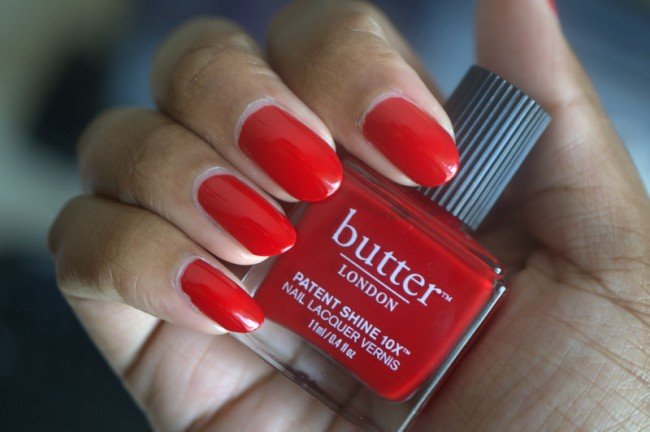 butter LONDON Her Majesty's Red