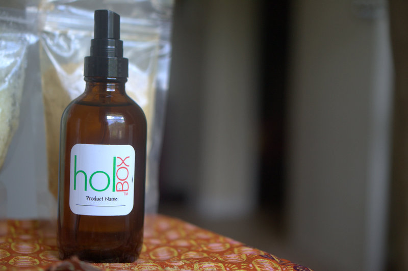 The HOLBox rosewater