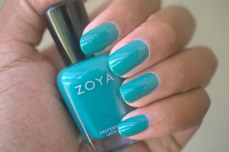 Zoya Cecilia nail polish