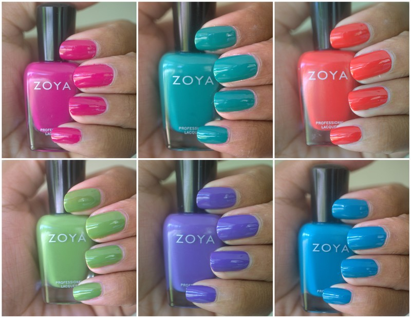 Zoya Island Fun nail polish collection