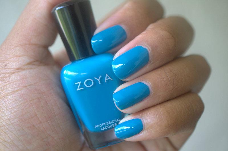 Zoya Talia nail polish
