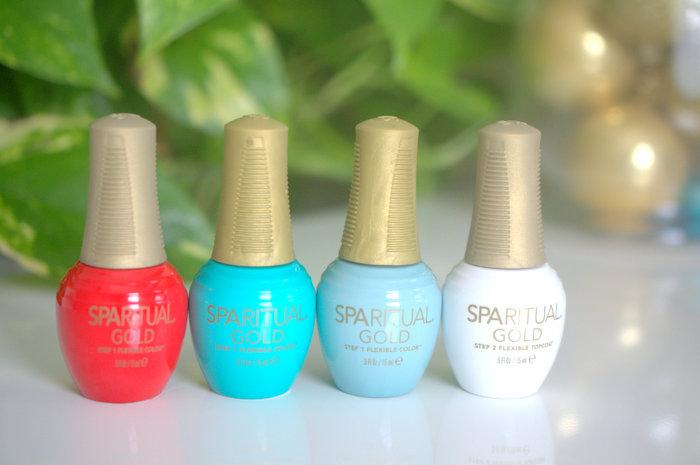 SpaRitual GOLD nail polish