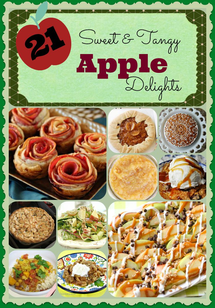 21 Apple Recipes