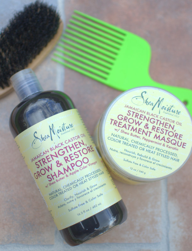 SheaMoisture Black Castor Oil