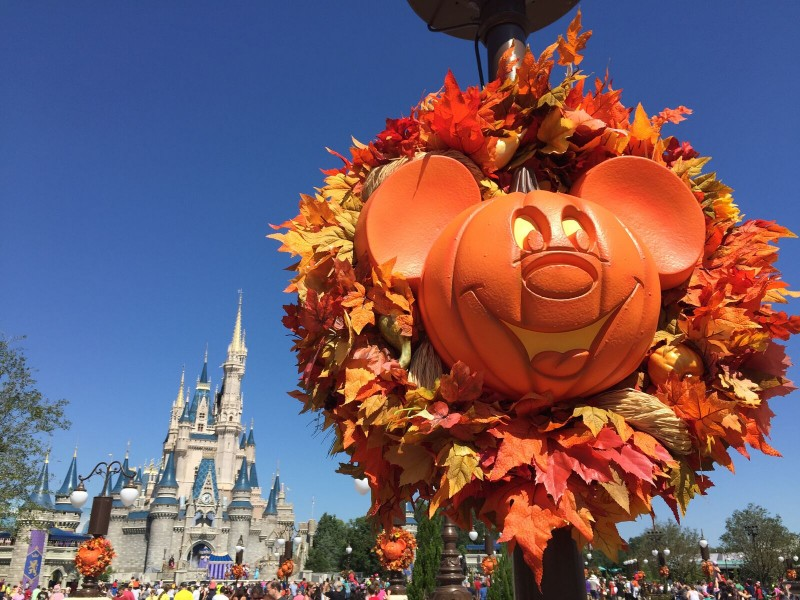 Walt Disney World at Fall