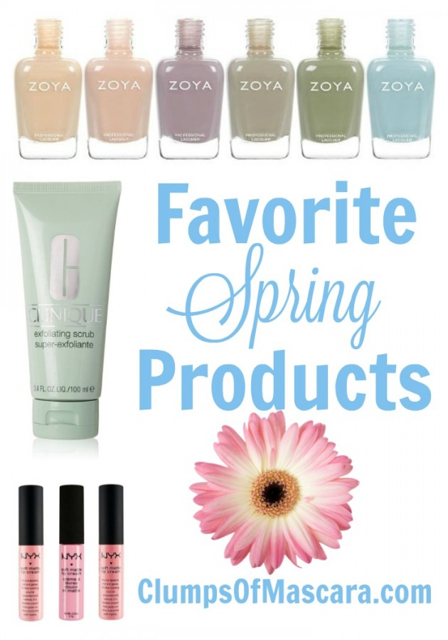Favorite Spring Products