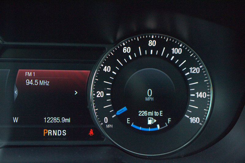 Ford Explorer dashboard