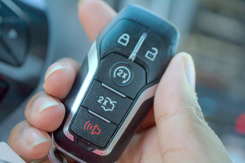 Ford Explorer keys