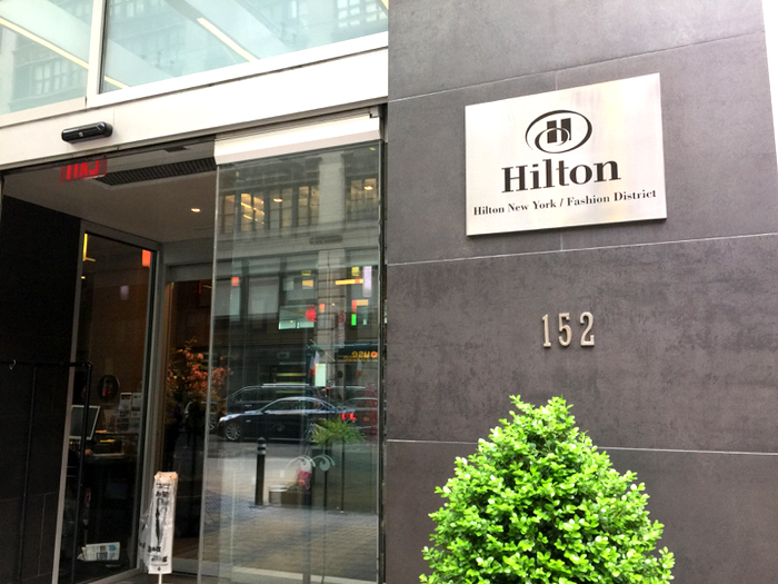 Hilton New York Fashion District – Can I Just Move In?