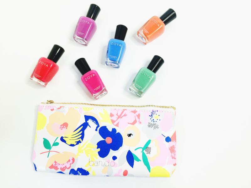 Zoya Sunset nail polish