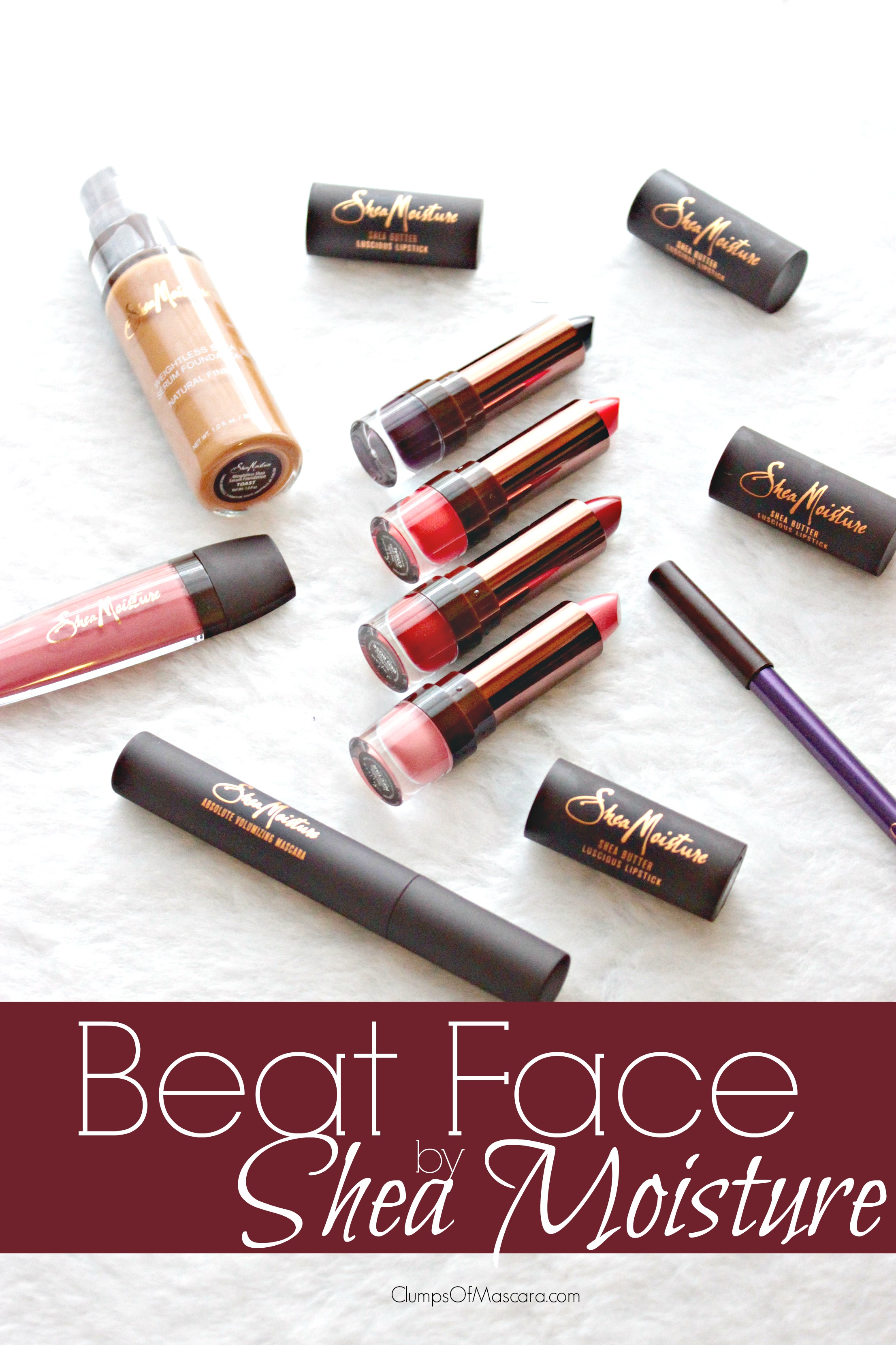 We all know Shea Moisture is rocking hard in the natural hair and body product community but did you know they do makeup too? Check this out.