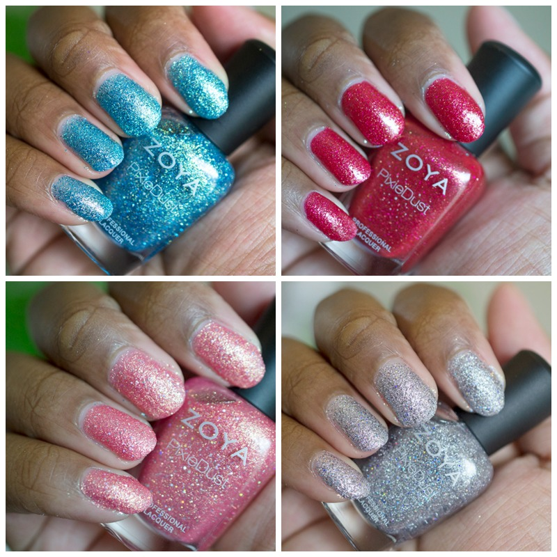Zoya Seashells Collection – Yay Pixie Dust!