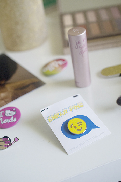 Sparkling poop emoji pin and other things that make me happy…