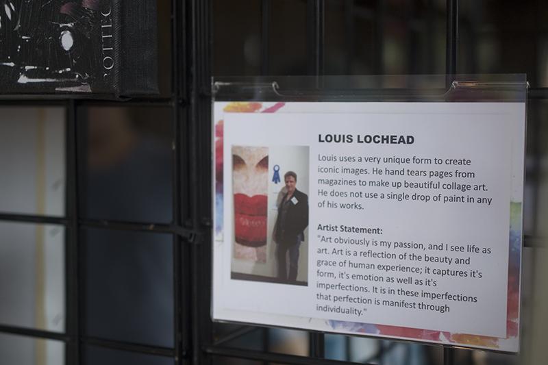 Artist Louis Lochead