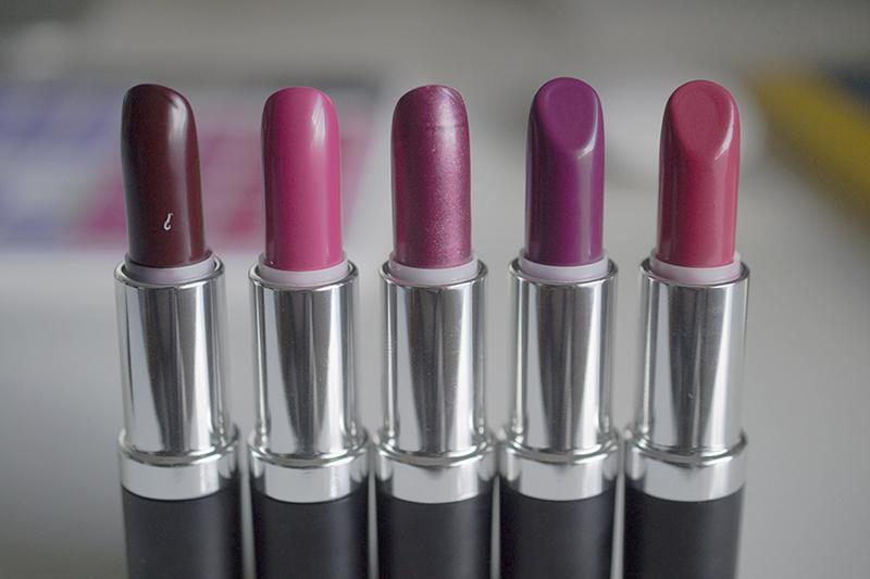 ZOYA Lipstick shades