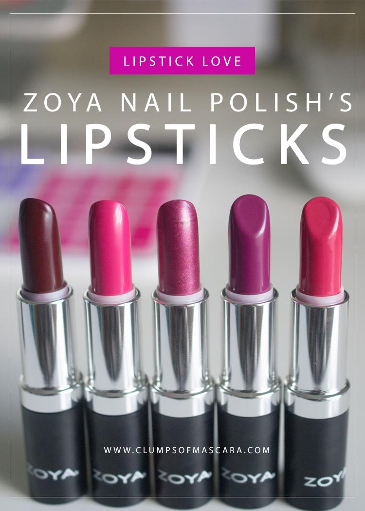 ZOYA Lipsticks