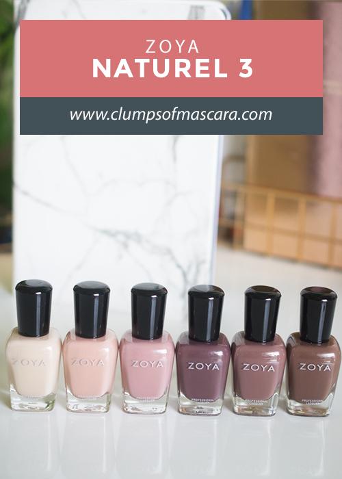 ZOYA Naturel 3 collection