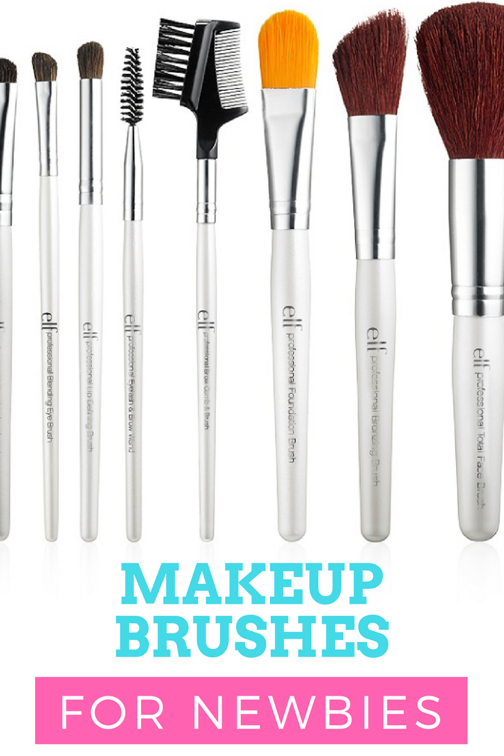 makeup brushes for newbies