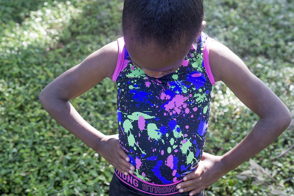 Little Brown Gymnast