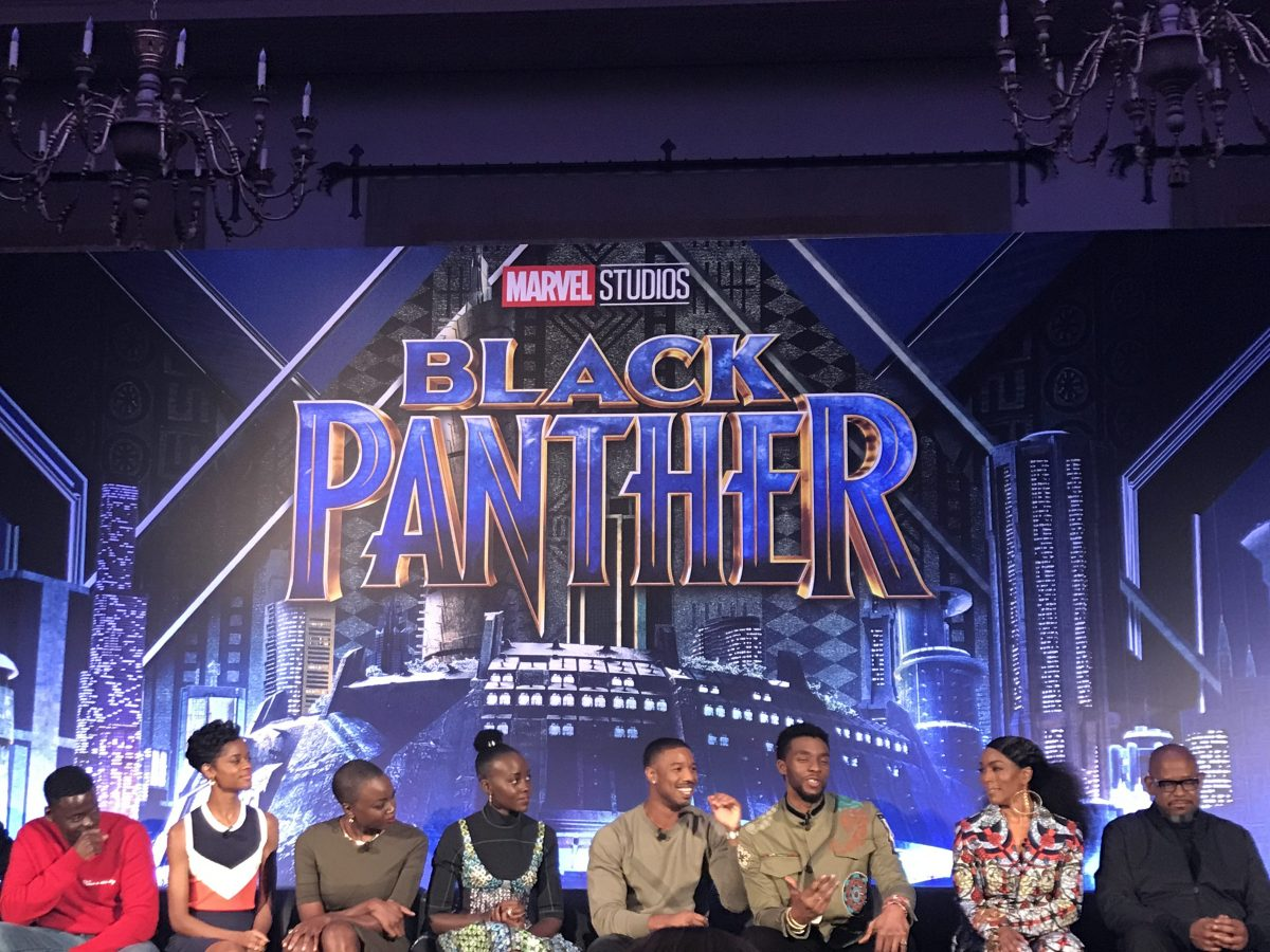 Marvel Black Panther press conference