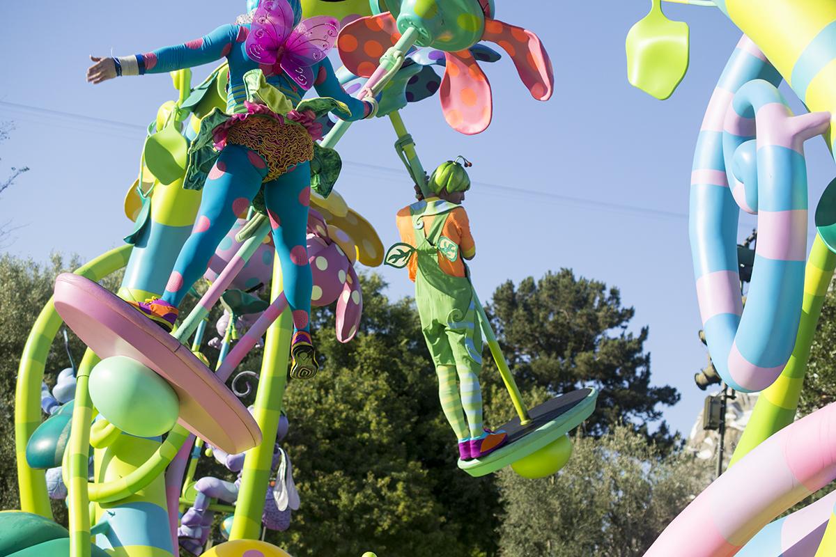 Pixar Fest Play Parade