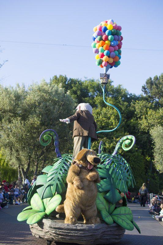 Pixar Fest Parade