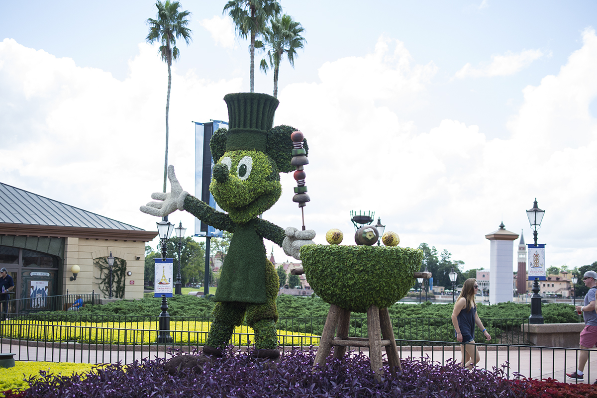 Epcot landscaping