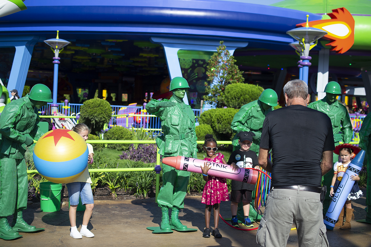 Green Army Patrol Toy Story Land